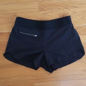 Athleta black athleisure shorts